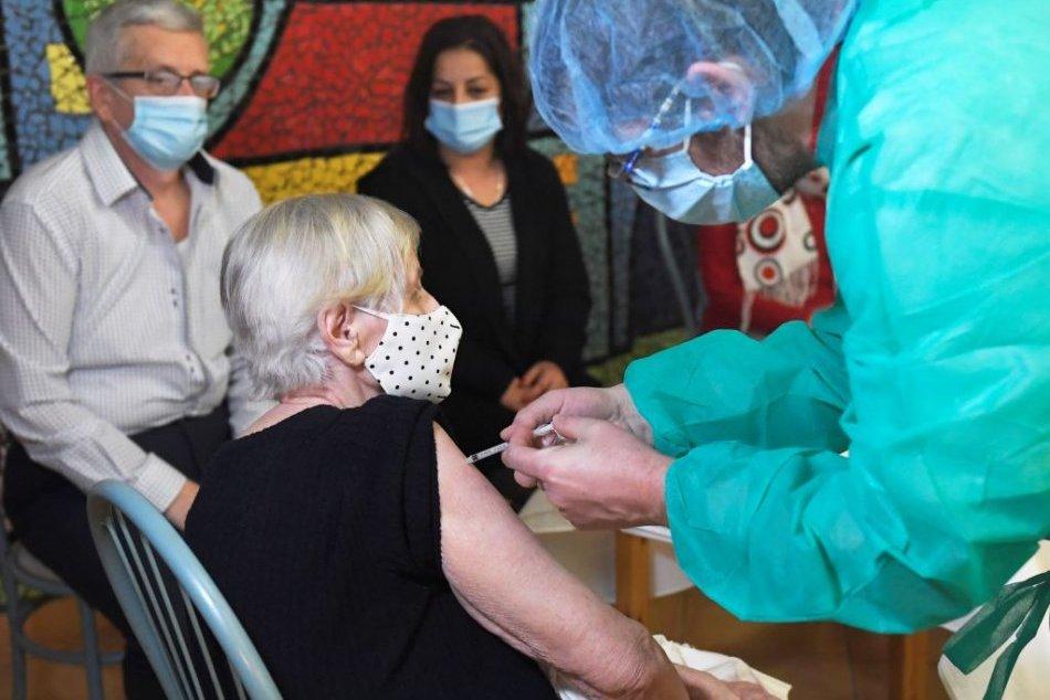 Očkovanie v domove sociálnych služieb