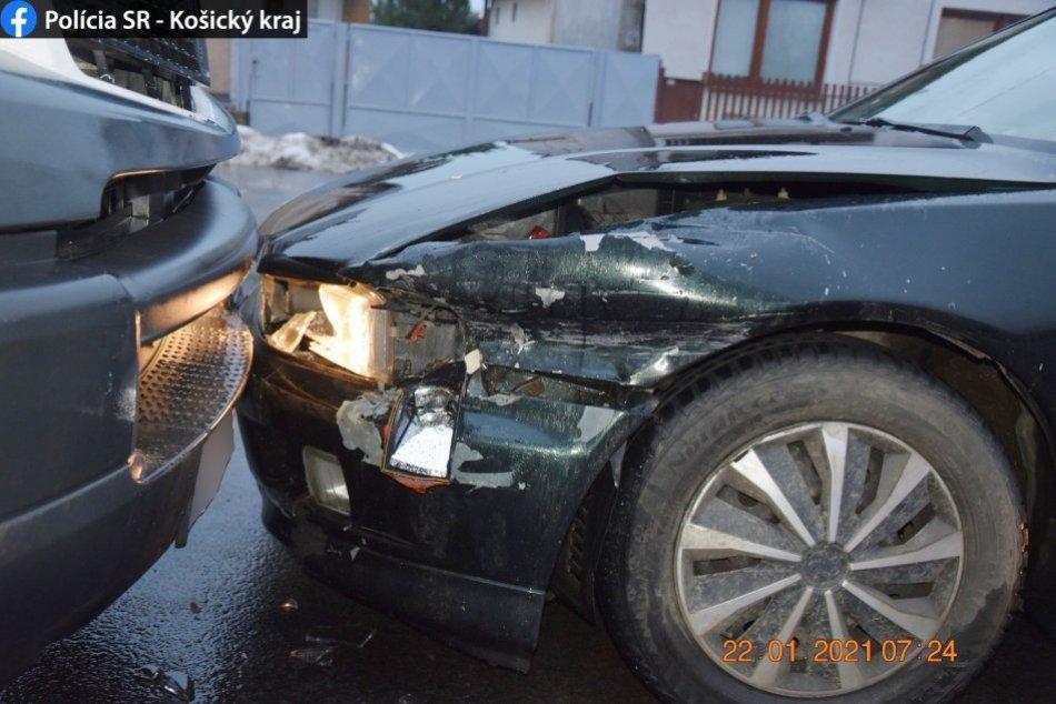 Opitý šofér spôsobil nehody v Michalovciach