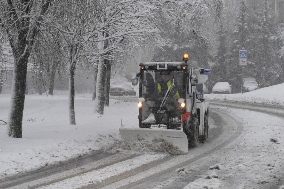 Snehová kalamita v Košiciach