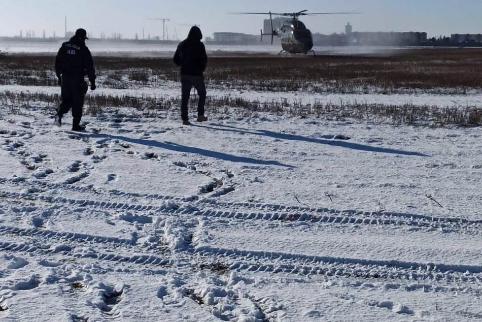 Do pátrania po Ivanovi Kučerovi z Trnavy nasadili vrtuľník
