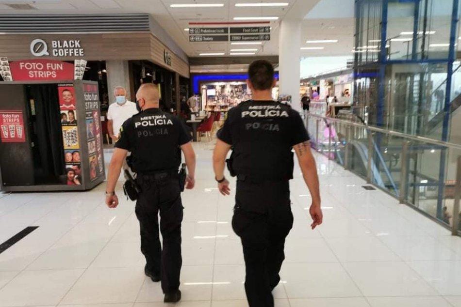 V OBRAZOCH: Činnosť zvolenskej mestskej polície v roku 2020