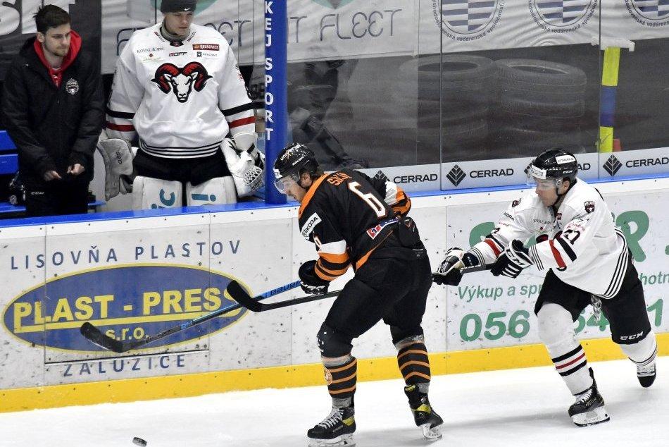 V OBRAZOCH: HK Dukla Ingema Michalovce - HC'05 Banská Bystrica