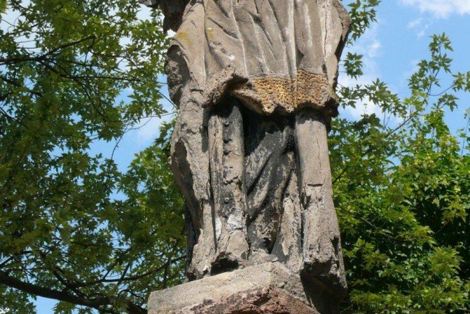 OBRAZOM: Socha sv. Jána Nepomuckého