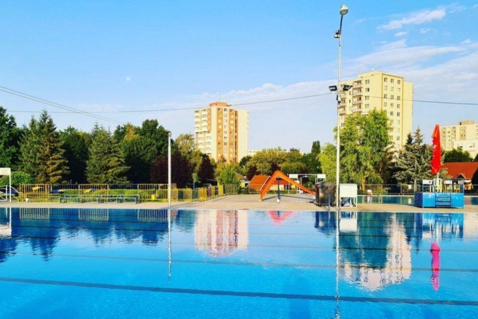 Letné kúpalisko v Topoľčanoch