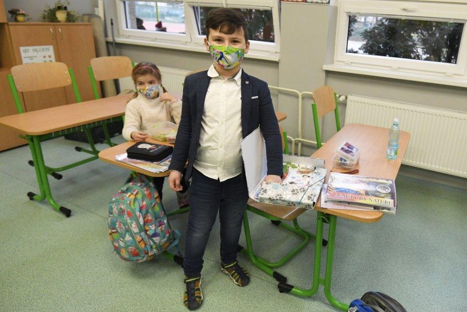 V OBRAZOCH: Deti v Košiciach sa opäť vrátili do škôl