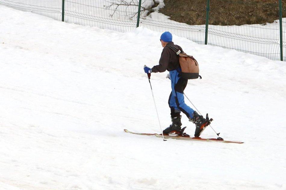 V OBRAZOCH: Aktuálne zábery zo zatvoreného lyžiarskeho strediska na Donovaloch