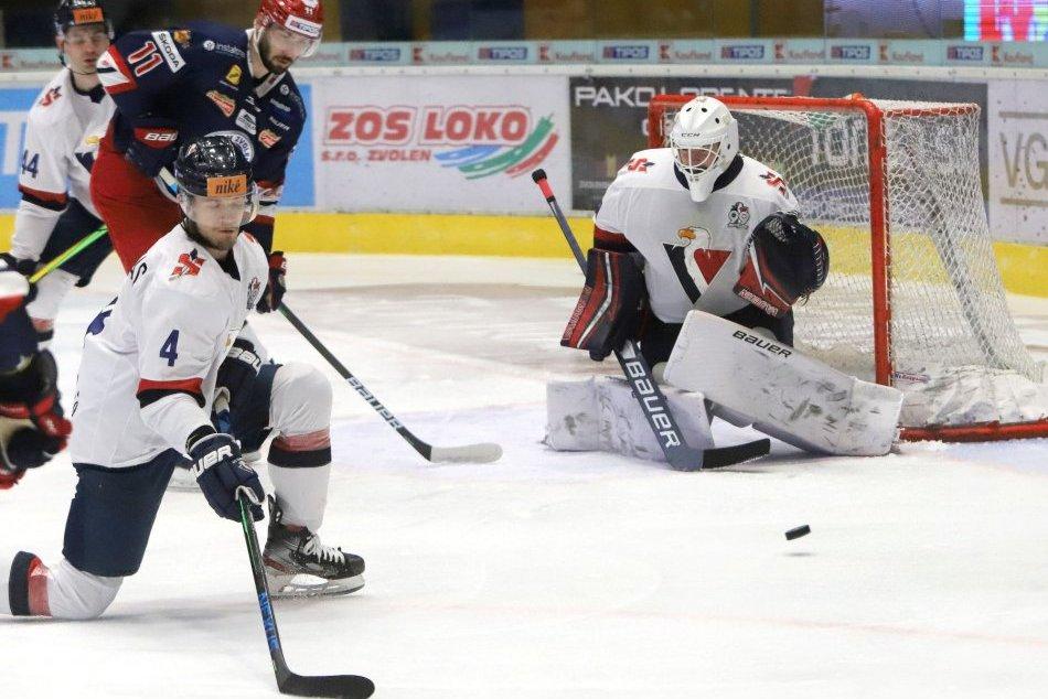 V OBRAZOCH: HKM Zvolen – HC Slovan Bratislava