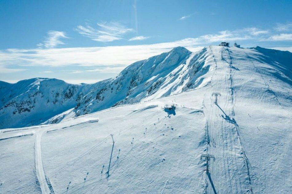 Zjazdovka v Jasnej pred Svetovým pohárom v lyžovaní