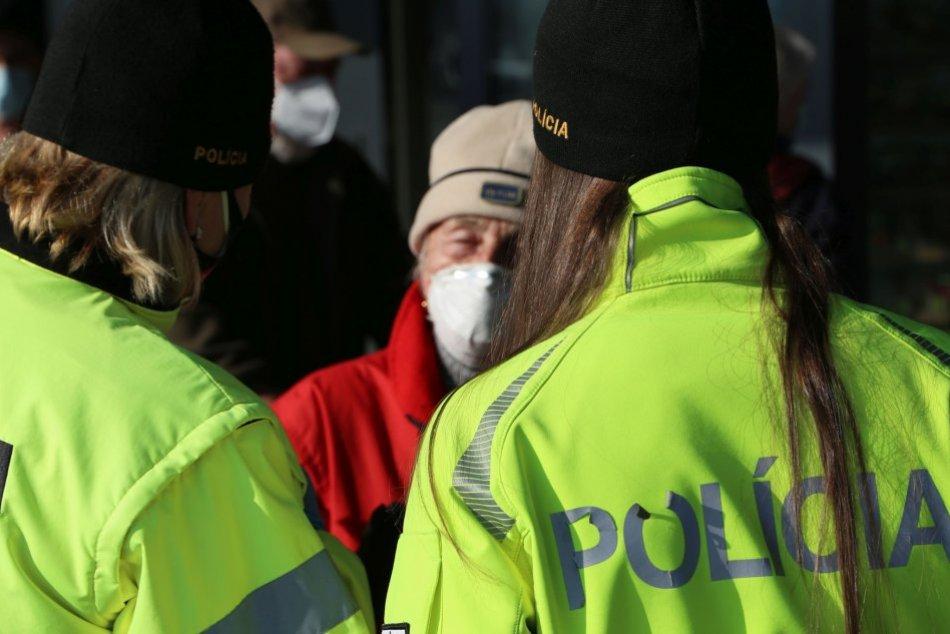 Preventívna akcia polície v Topoľčanoch