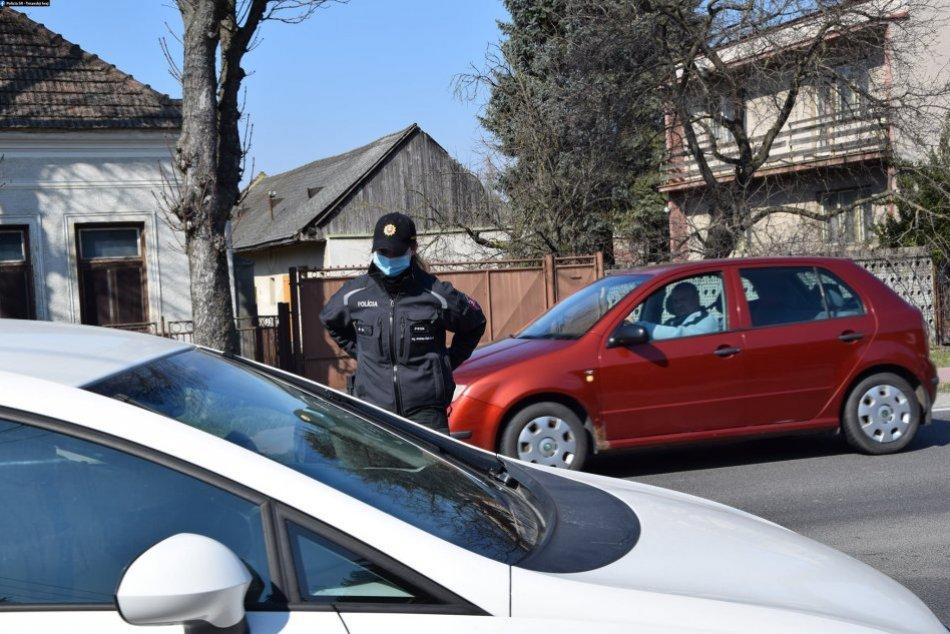 V OBRAZOCH: Kontrola dodržiavania opatrení v Trnavskom kraji