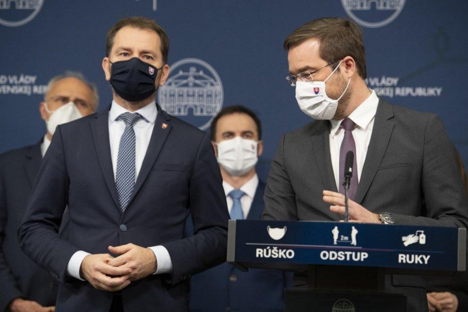 V OBRAZOCH:  Marek Krajčí oznámil odstúpenie z funkcie ministra zdravotníctva