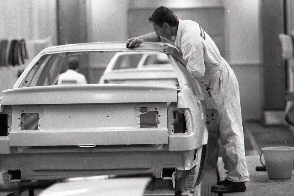 História bratislavského závodu Volkswagen