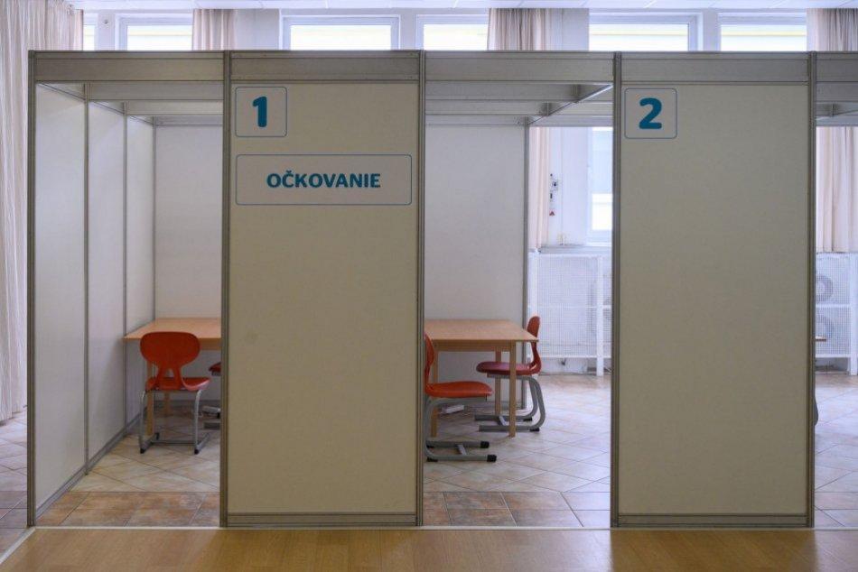 Veľkokapacitné vakcinačné centrum v Nitre