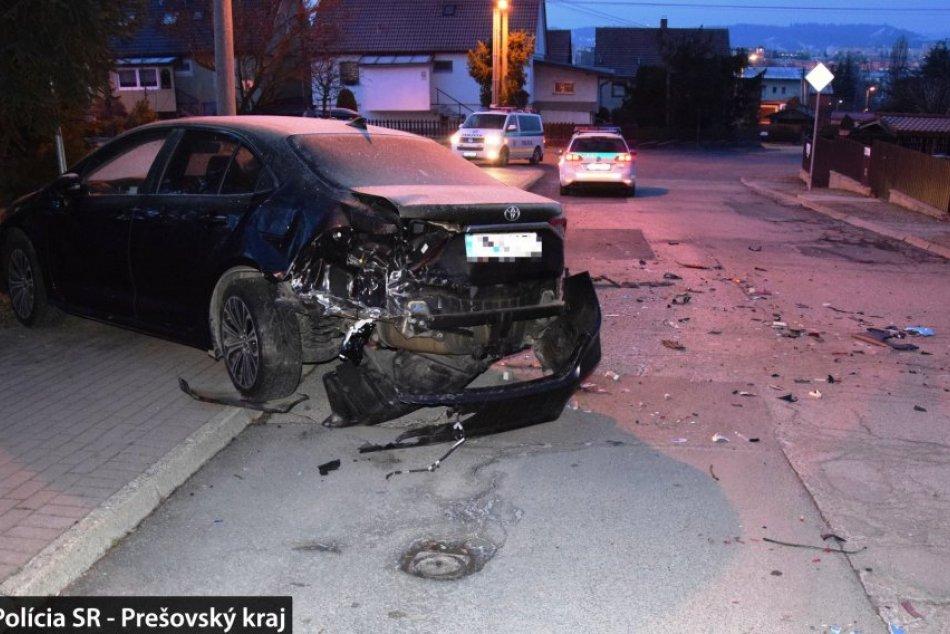 Opitý Popradčan: Najprv rozbil zaparkované auto, potom plot