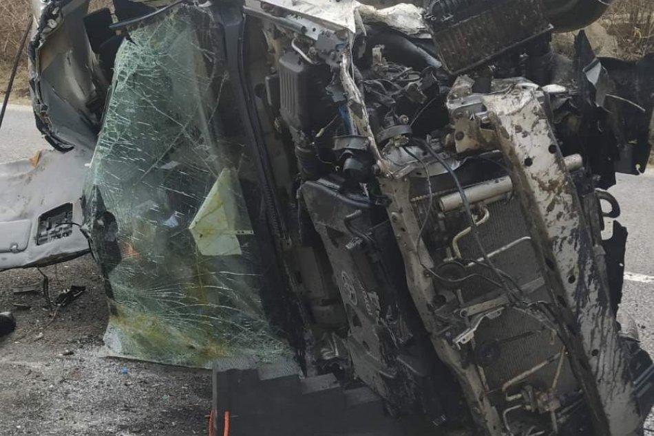 Hrozivá nehoda pri Šírave na fotkách