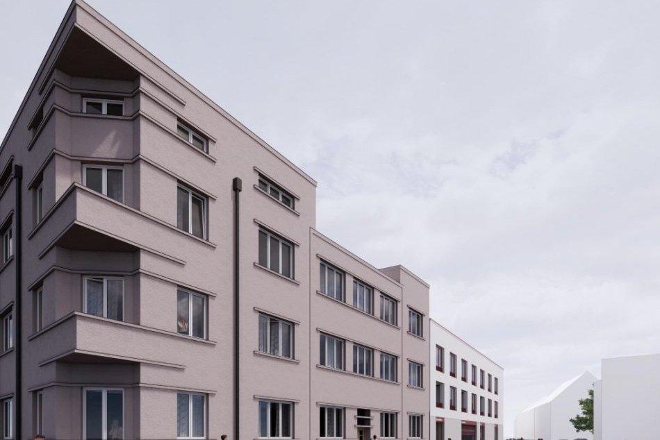 Vizualizácia nájomných bytov na Jesenského