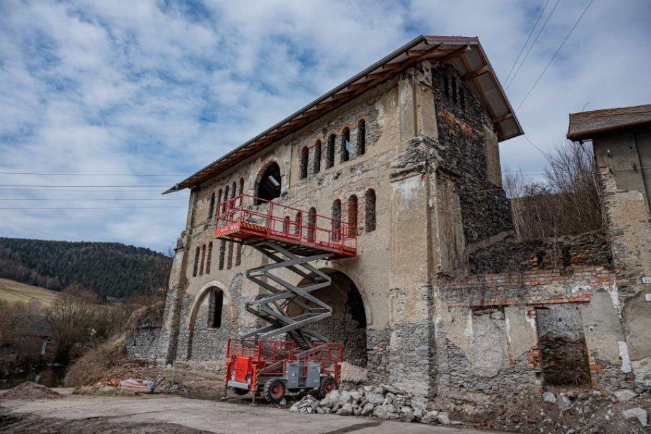 V obrazoch: Železiareň, zlievareň v lokalite Stará Maša