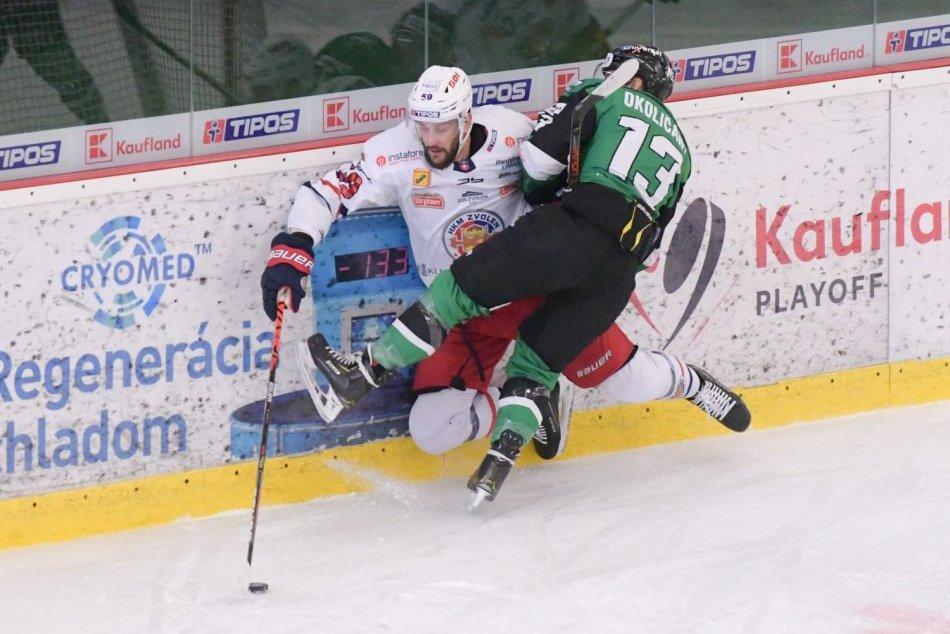 OBRAZOM: HC Nové Zámky - HKM Zvolen 3:6 vo 4. zápase štvrťfinále