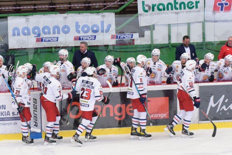 V OBRAZOCH: 4. zápas štvrťfinále medzi HC Mikron Nové Zámky a HKM Zvolen