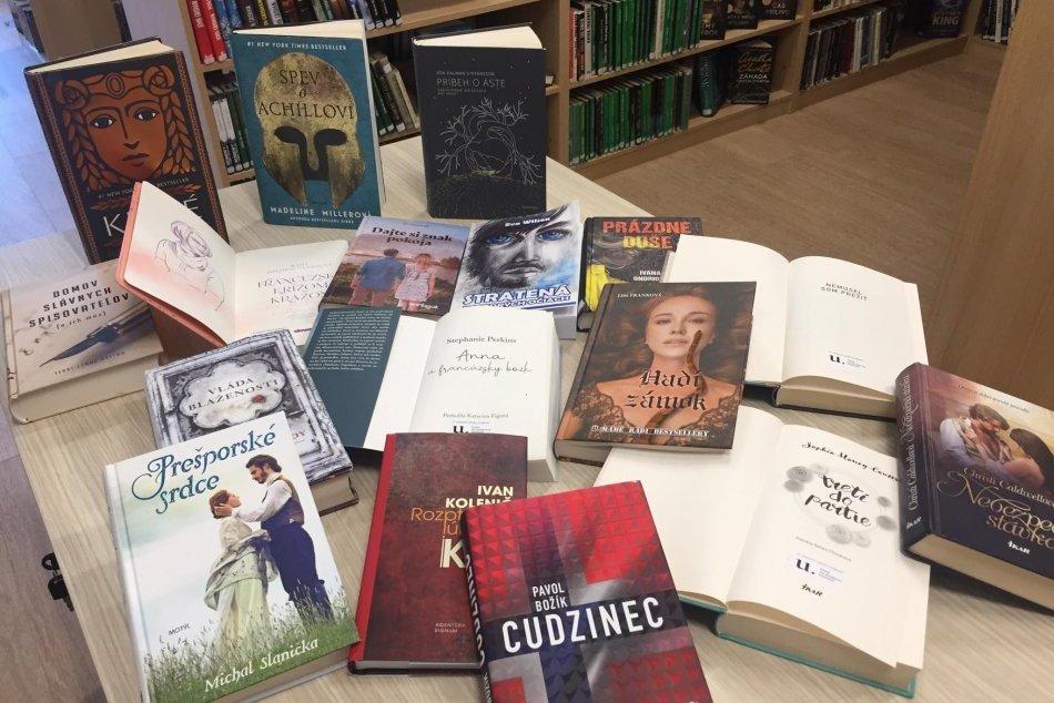 Zemplínska knižnica sa môže pochváliť novými knihami
