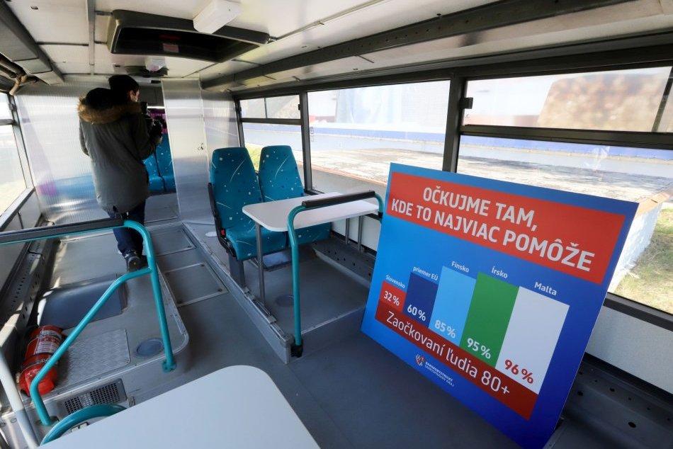 V OBRAZOCH: V Banskobystrickom kraji pomôže očkovací autobus