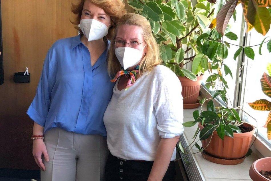 V OBRAZOCH: V bystrickej nemocnici pomáhala desiatka tlmočníkov