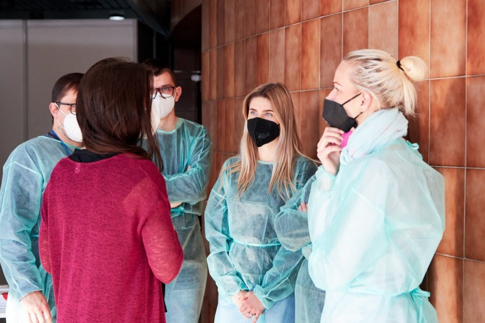 V OBRAZOCH: Očkovacie centrum v Žiari nad Hronom