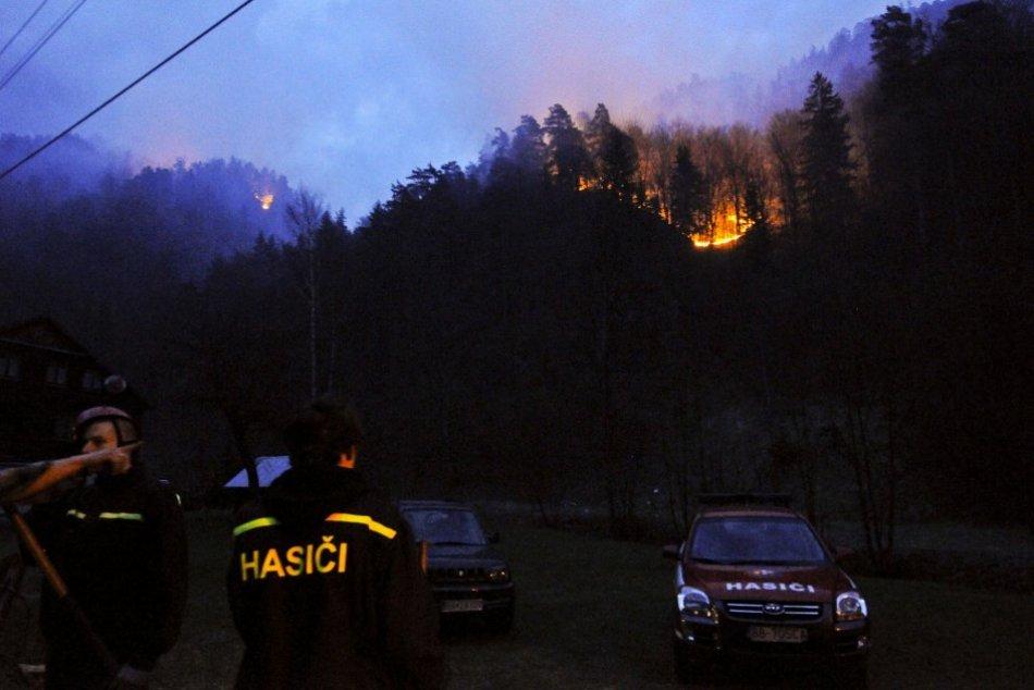 V OBRAZOCH: Pred 10 rokmi vypukol pri Bystrici veľký lesný požiar