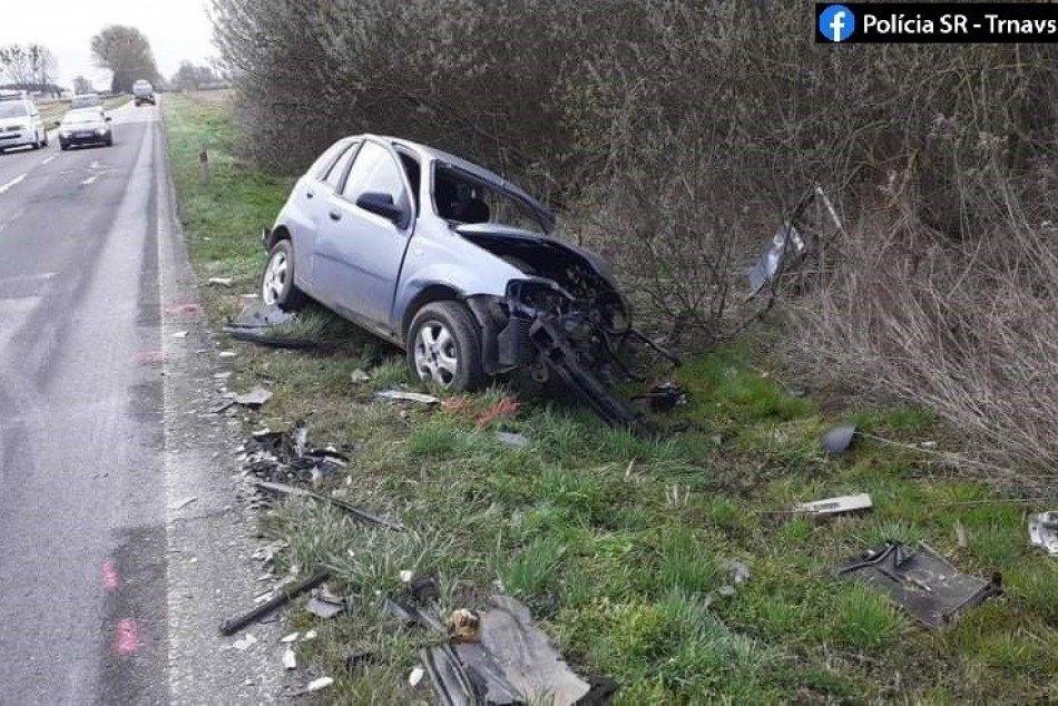 Havária v Trnavskom kraji
