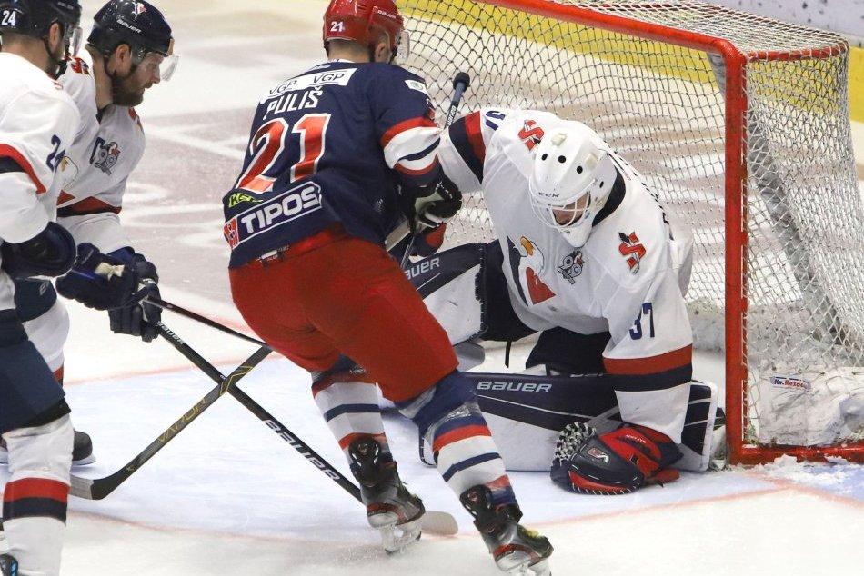 V OBRAZOCH: Piaty zápas semifinále HKM Zvolen – HC Slovan Bratislava