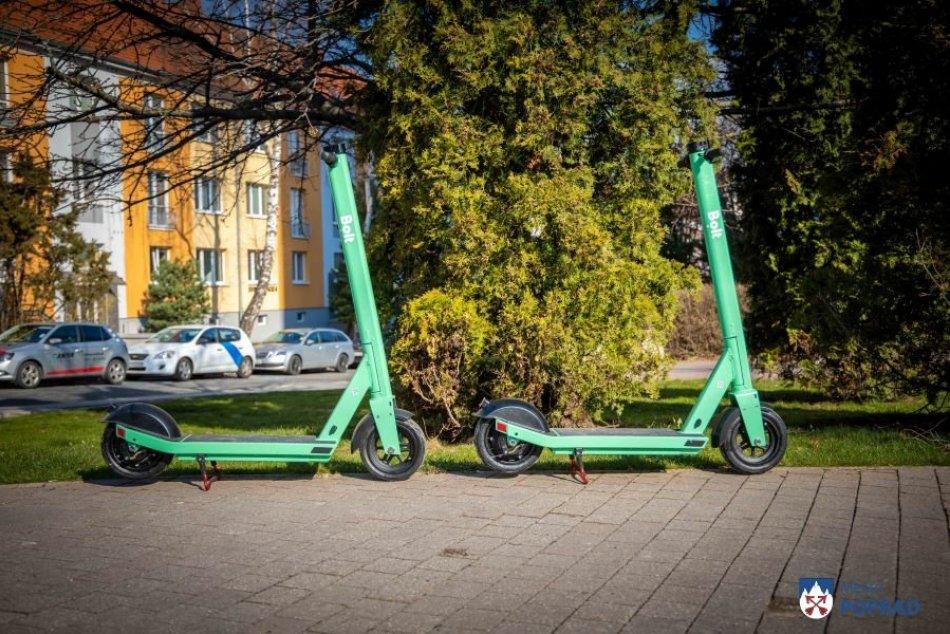 Nová vychytávka v Poprade: E-kolobežky na každom rohu