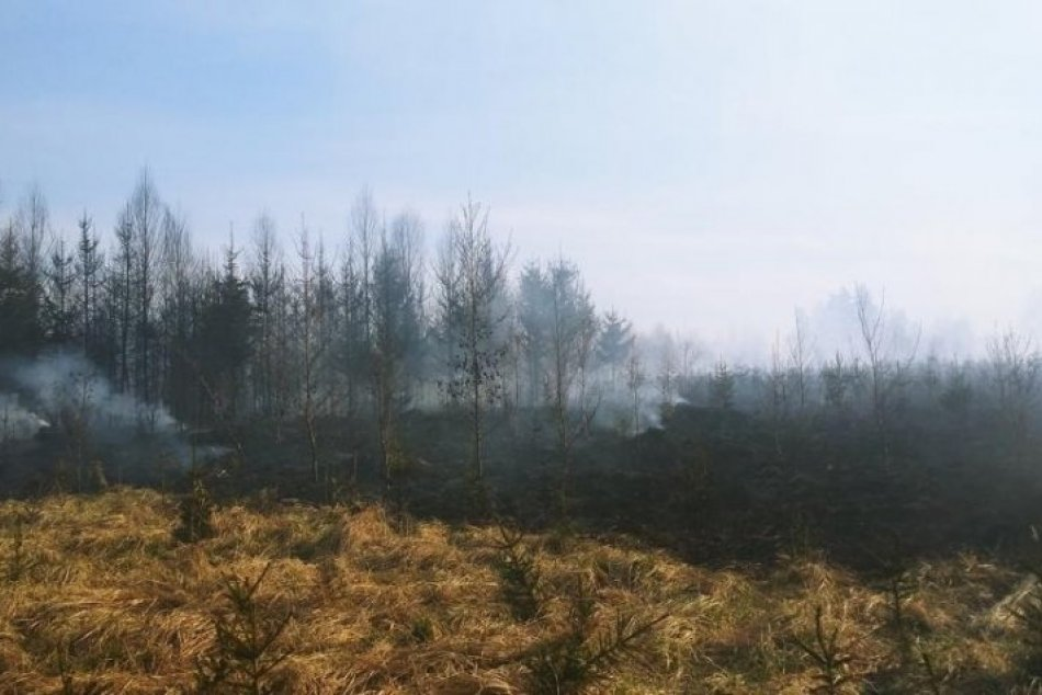 Do akcie bolo privolaných množstvo hasičov