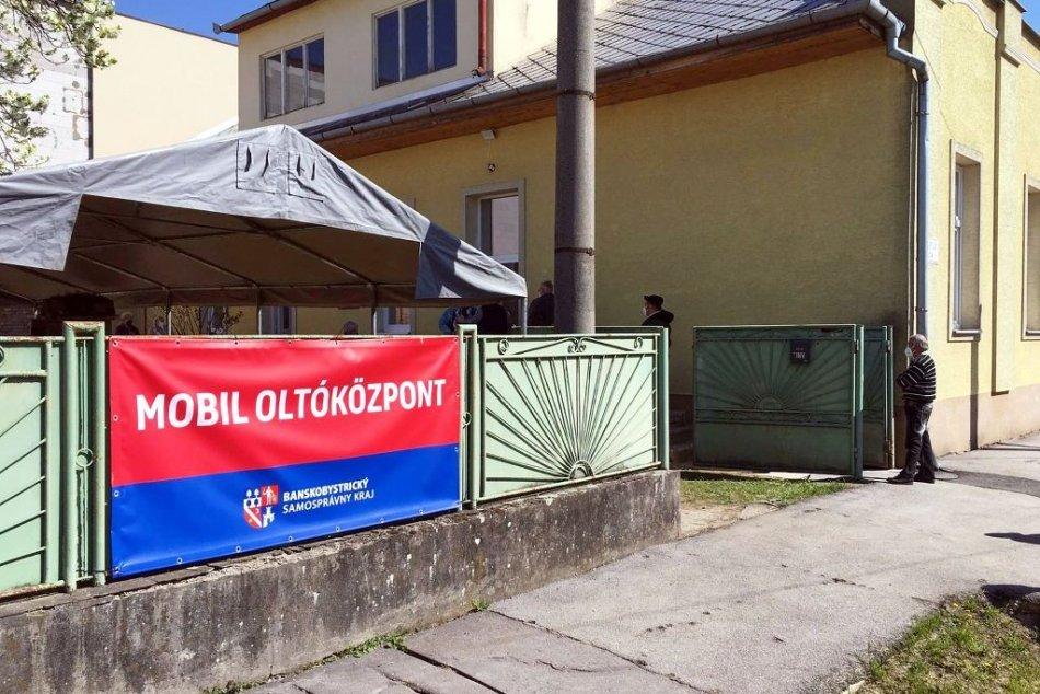 V OBRAZOCH: Mobilné očkovanie v Tornali