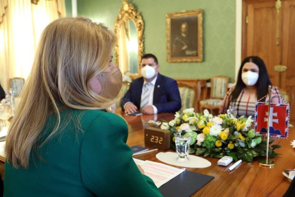 Barbarka z michalovskej nemocnice navštívila prezidentku SR