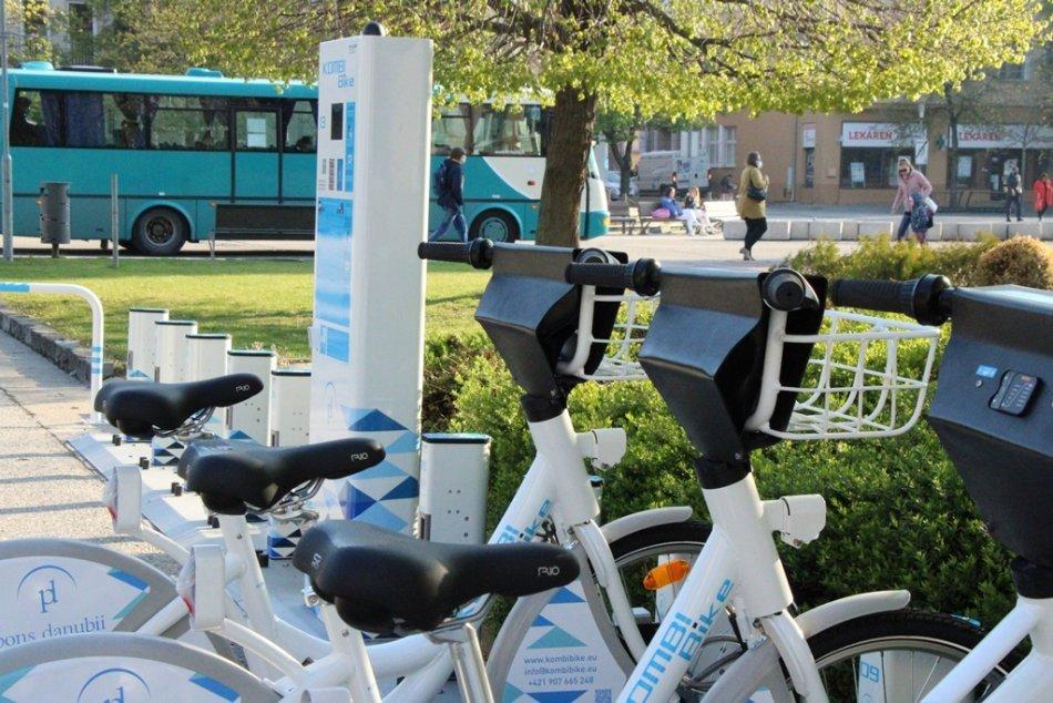 Bikesharing v Nových Zámkoch