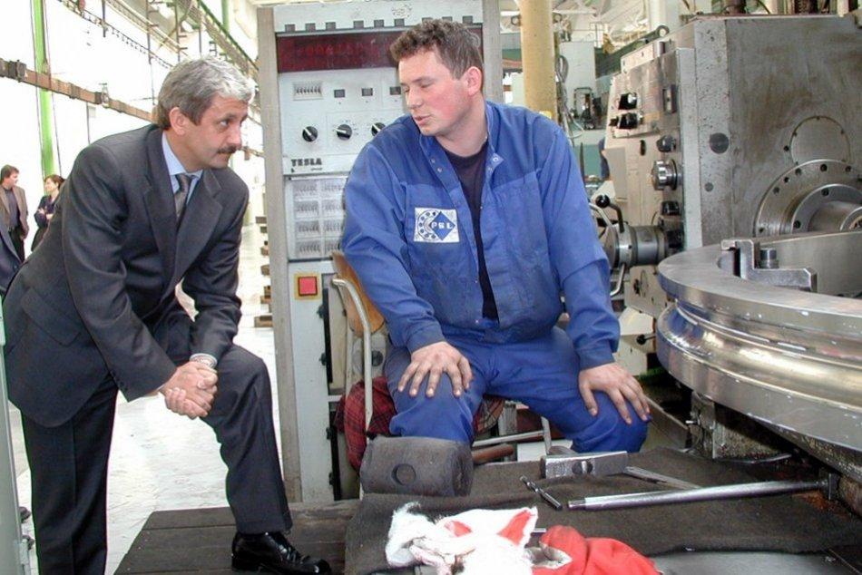RETRO: Bývalý premiér Mikuláš Dzurinda počas návštevy Považskej Bystrice