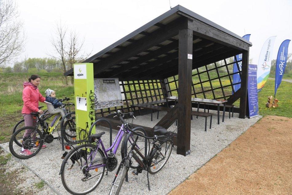 Objektívom: Novinku v okolí Košic si cyklisti budú pochvaľovať