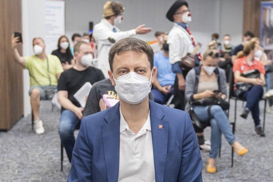 Eduard Heger očkovanie AstraZeneca prvá dávka