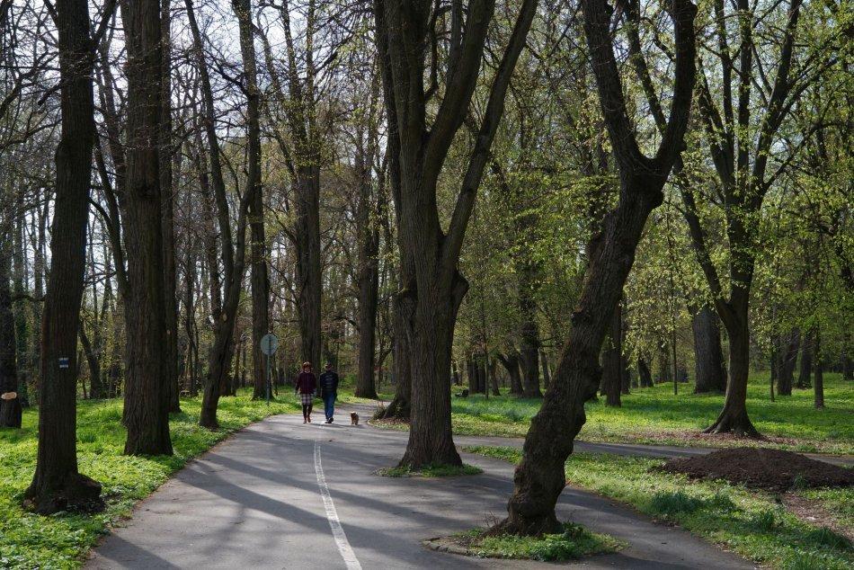 V OBRAZOCH: Mestský park v Lučenci v týchto dňoch láka ľudí
