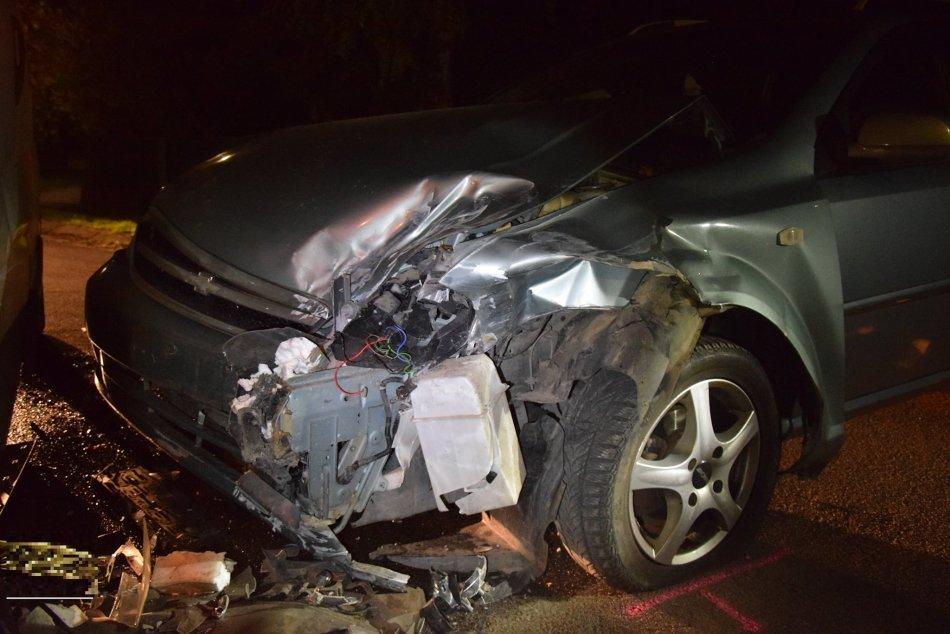 Dopravná nehoda v Komjaticiach