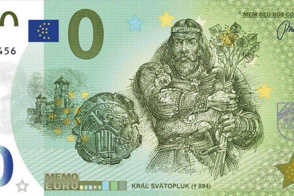 Zberateľské eurobankovky v Nitre