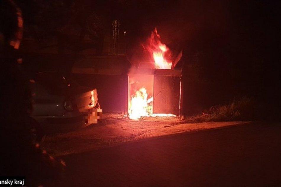 Požiar v Nových Zámkoch