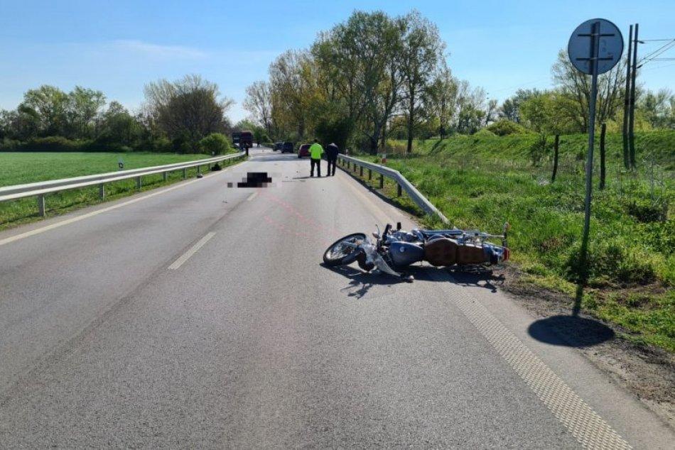Tragická nehoda motorkára