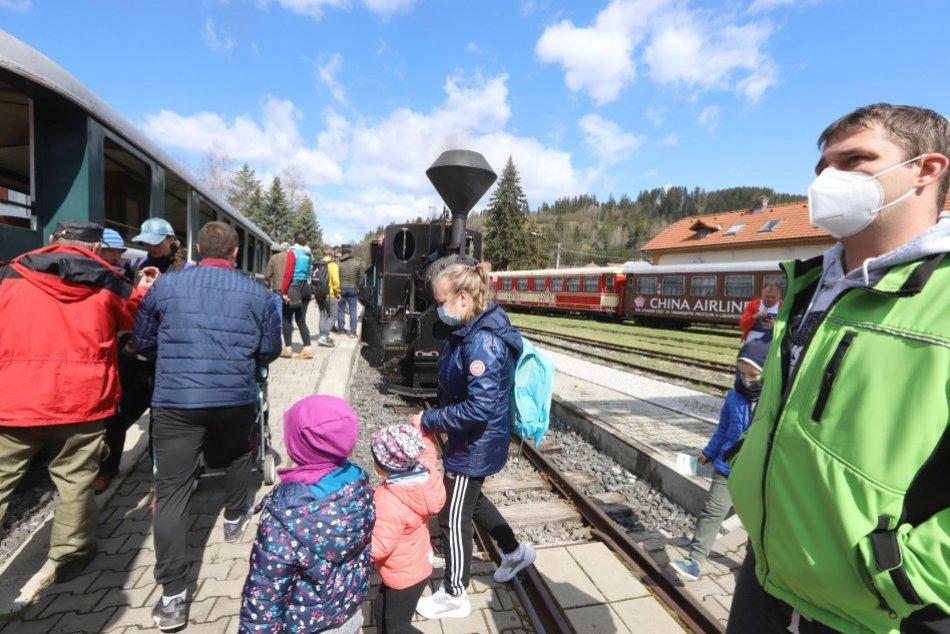 V OBRAZOCH: Čiernohronská železnica otvorila svoju 30. sezónu