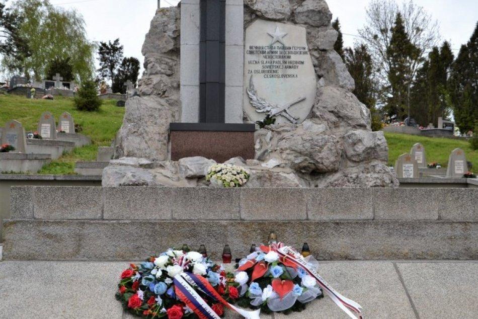 76. výročie ukončenia druhej svetovej vojny v Humennom