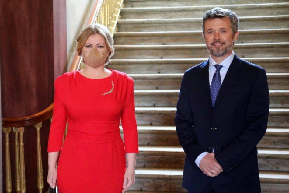 Prezidentka Čaputová na návšteve Dánska