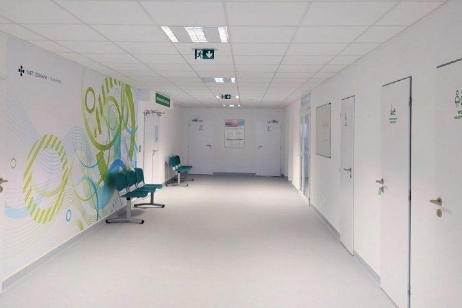 Vynovená časť humenskej nemocnice