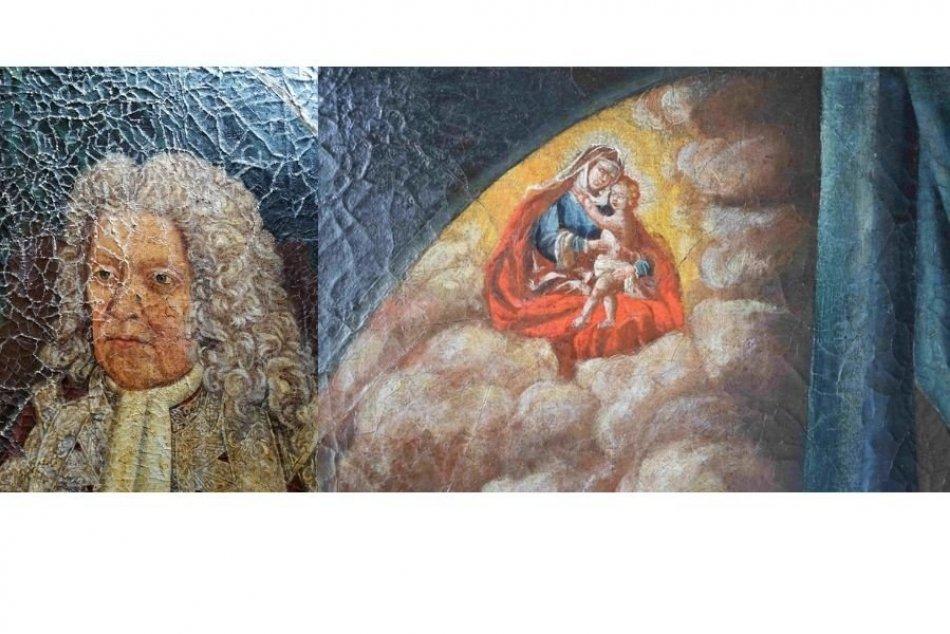 Tak toto sa podarilo: Zreštaurovaný obraz Jána Jakuba Löwenburga