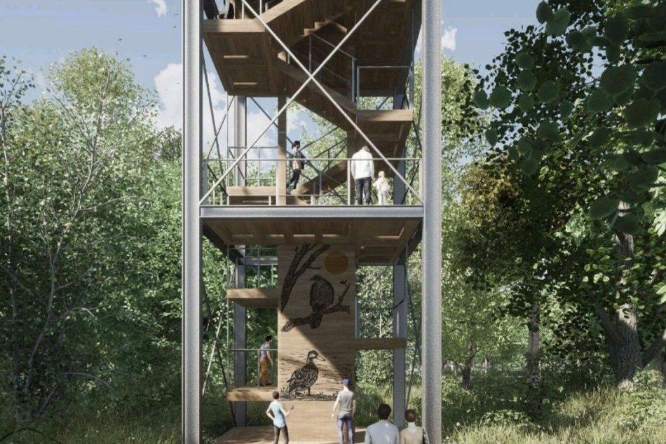 Lákavé plány v Kamenáči: VIZUALIZÁCIA vyhliadkovej veže!