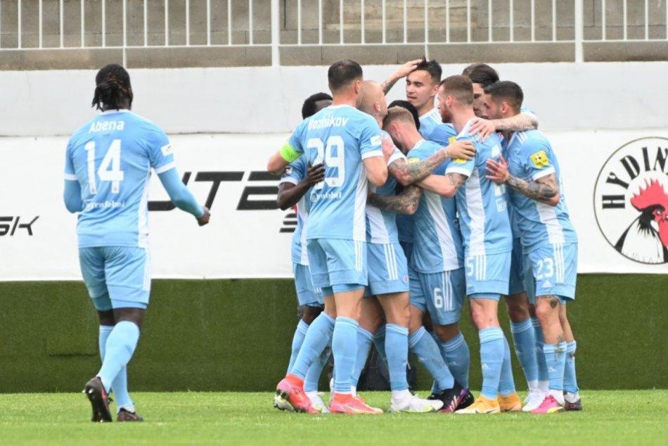 FC ViOn Zlaté Moravce-Vráble – ŠK Slovan Bratislava 0:4 (0:2)